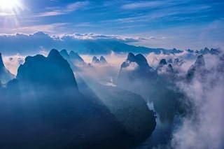 Mt. Xianggongshan sunrise