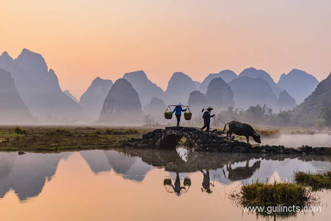 Guilin sunrise