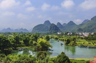Yulong river, Yangshuo