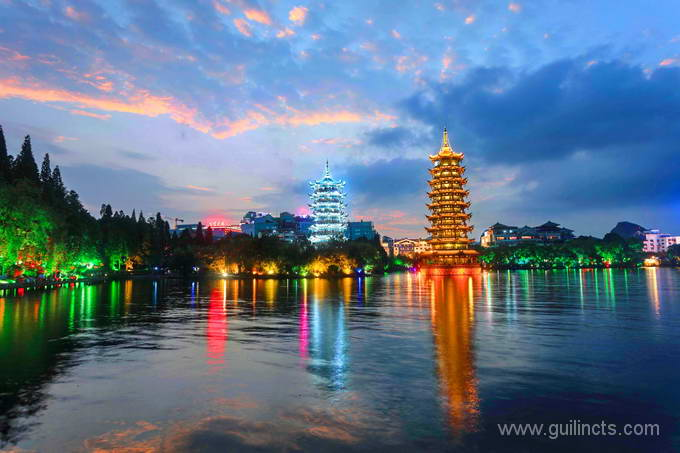 Guilin evening photo