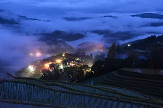 Longji evening photo