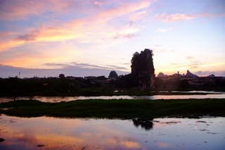 Guilin Fubo Hill Sunset
