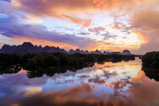 Li River Sunset, Guilin