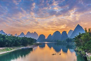 Sunrise, Li River